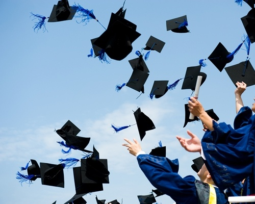 Set up the stage, grab the diplomas and put the finishing touches on your speech - it's graduation day.