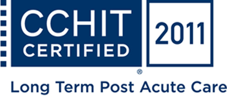 NDoc CCHIT Certified logo