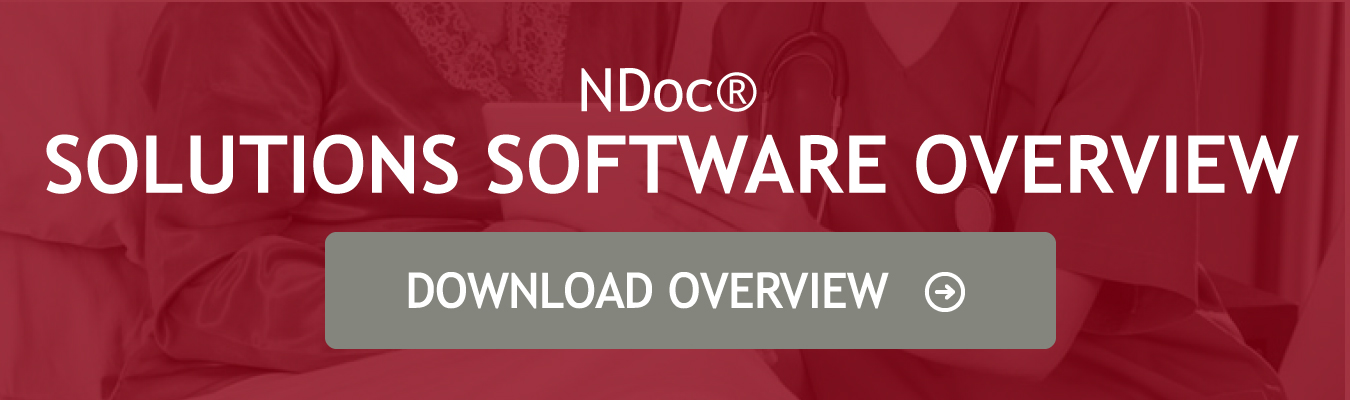 NDoc home health software overview download button